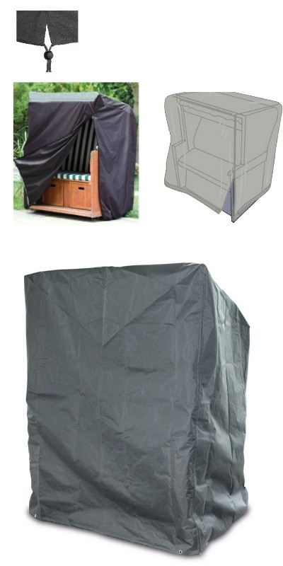 happy people 79334 wehnke abdeckung f r garten strandkorb fun and home. Black Bedroom Furniture Sets. Home Design Ideas