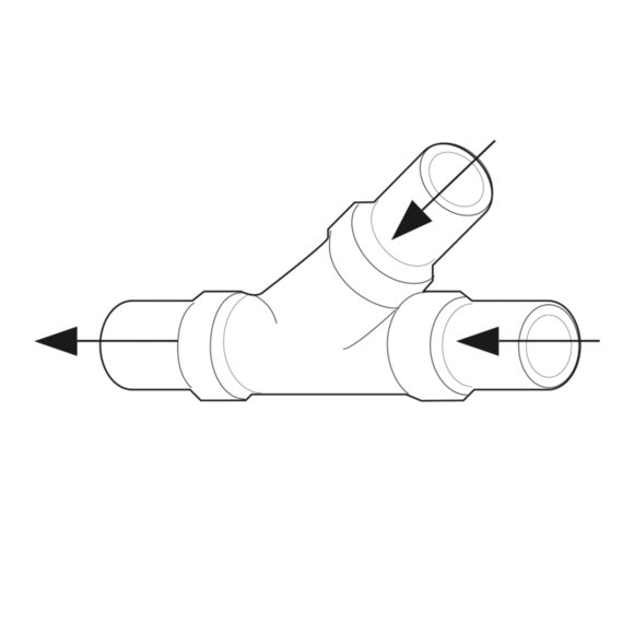 Dometic Wye Kit Schlauchstutzen PVC 38 mm * 9107100024